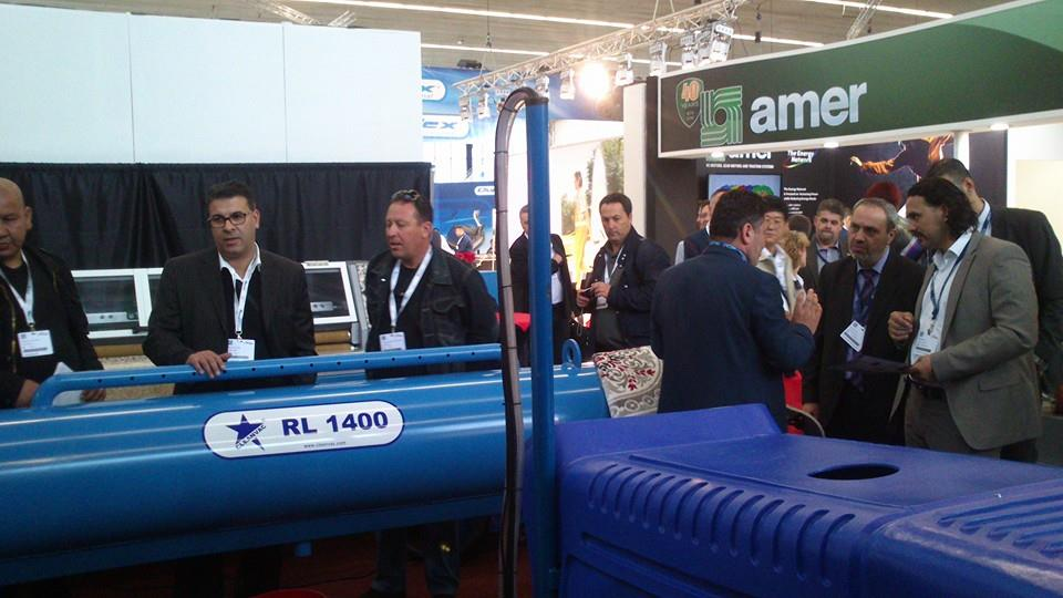 issa interclean exhibition in amsterdam 2014 cleanvac carpet washing cleaning machines