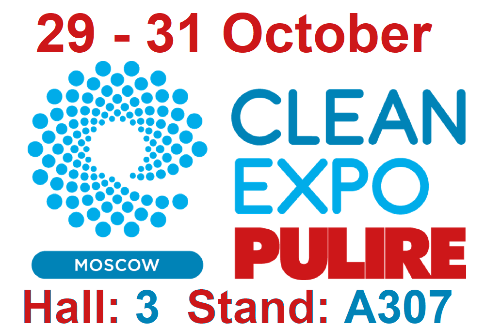 CLEANEXPO MOSCOW 2019 - RUSSIA